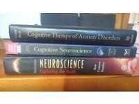 Clinical psychology/neuroscience books (batch) - REDUCED!