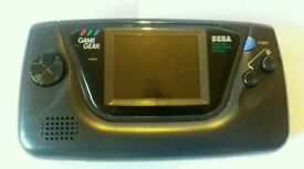 Sega Gamegear Console GC works but faulty!!