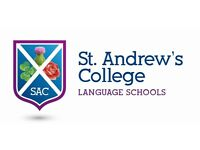 RESIDENTIAL TEFL TEACHER / ACTIVITY LEADER AT EDINBURGH OATRIDGE CAMPUS