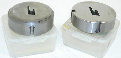 2 New Amada Tooling Punch Press Dies 3.50 Diameter