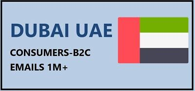 Dubai Consumer Email Lists Uae Email Database Dubai B2c Emails Dubai Sales
