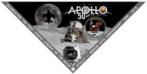 Scout Uniform Apollo 11 Neckerchief Moon Landing NASA Eagle 2019 World Jamboree