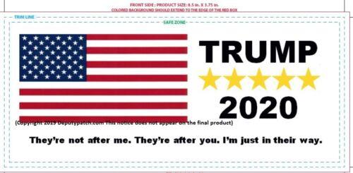 Trump Bumper Sticker They