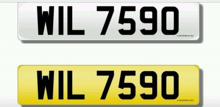 Cherished transfer: WIL7590 / Private Plate / Dateless Registration. WILLS go?