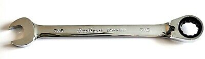 "Blackhawk 7/8"" Combination Reversible Ratcheting Wrench BW-1428 Full Polish 12pt"