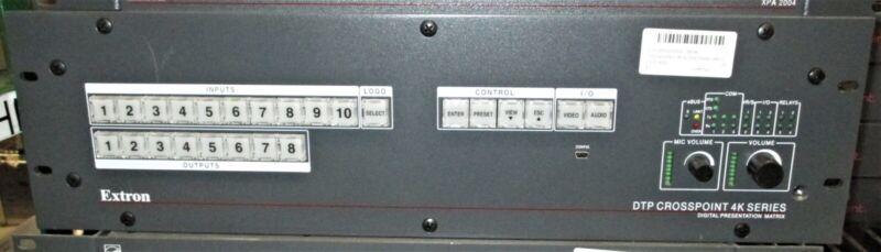 EXTRONDTP CROSSPOINT 108 4K 10x8 Seamless Scaling Presentation Matrix Switcher
