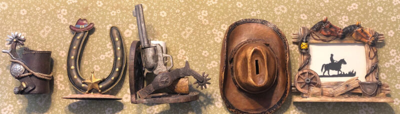 Western Cowboy Collectibles  Lot Of 5