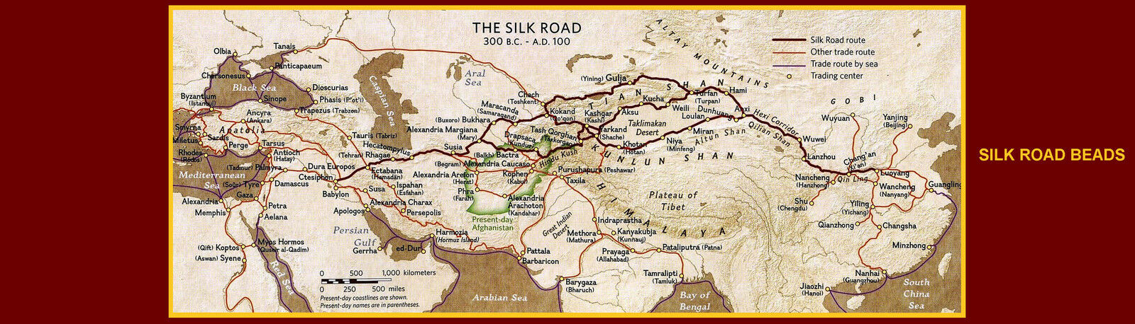 Silk Road Beads