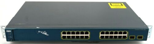 Cisco Catalyst Ws-c3560-24ts-s 10/100 24 Port Rack-mountable Ethernet Switch