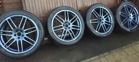 19inch Audi A6 Le Mans come with basically new tyres
