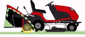 Countax / Westwood Mower - Ride on Lawnmower - No more Blocked grass chutes in Wet Grass lawn