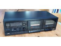 JVC TD-W11 Stereo Double Cassette Deck - Twin Tape Record & Playback