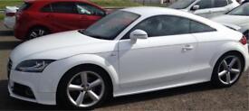 Audi TT Quattro tdi s-line ibis white