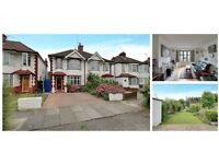 3 bedroom, unfurnished semi detached house with it's own driveway and a generous garden.