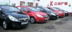 CORSA'S AT K-CARS DUNDEE CHOICE OF 5