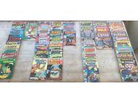 Old vintage comics marvel / dc ect