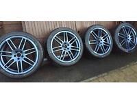 """Audi 19"""" Alloys. RS4 Alloy Wheels"""