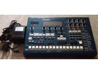 Yamaha RM1x sequence remixer unit + PSU + latest OS EEPROM installed + Switch Replacement Kit