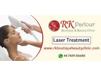laser Clinic and Salon Services .Laser Treatment Haircut and Styling Facial Treatment Make Up
