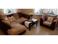 Corner Sofa and Armchair Donation