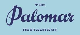 Experienced Waiter/ Waitress for The Palomar