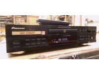 Pioneer PDR-609 CD Recorder/Player with remote control