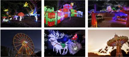 Hunter Valley Gardens Lights show