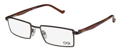 NEW OGI 9603 MASCULINE DESIGN FULL-RIM FABULOUS EYEGLASS (Full Rim Metal Eyeglasses Frame)