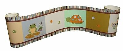 (Wall Border For Froggie & Friends Baby Bedding Set By Sisi)