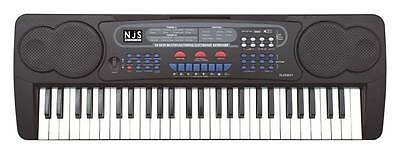 New Jersey Sound Corp 54-Key Digital Music Keyboard With USB & Microphone