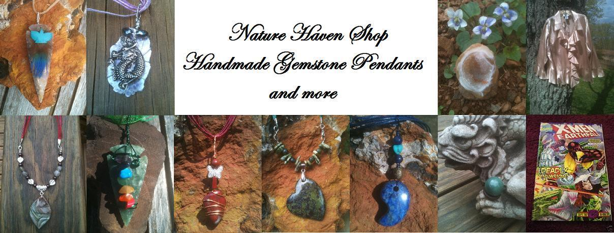 Gemstone Pendants and more