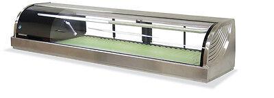 New 82 Refrigerated Sushi Display Case Nsf Hoshizaki Hnc-210ba-l-sl 5687 Glass