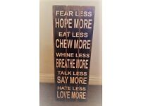 Home Decor Wooden Sign Christmas Gift