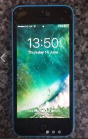 iphone 5c blue £30