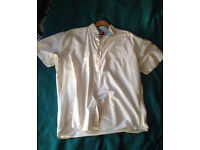 White/Cream Tommy Hilfiger short sleeve XL