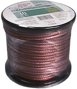 #=#NEW cable Audio WIRE pour cinema maison home theater 30 ft pi