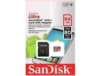 SanDisk Ultra 64GB Micro SD Card