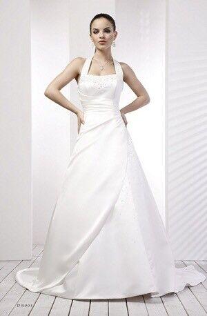 D Zage Wedding Dress Ivory Size 12 14