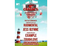 2 X 2 day tickets MTV Crashes Plymouth