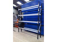 Car Tyre Racking Stand