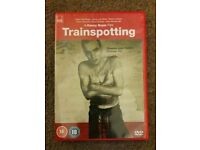 Trainspotting DVD (original) new, bought 2 days ago from Sainsburys and watched once