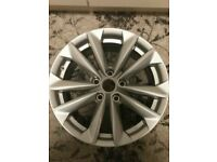 "Set of 4 17"" alloys great condition"