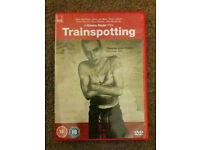 Trainspotting DVD (original) new, bought from Sainsburys and watched once