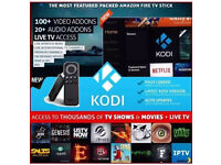 BRAND NEW AMAZON FIRE STICKS ( FULLY LOADED-LATEST VERSION-AUTO UPDATES ) CAN DELIVER & SETUP