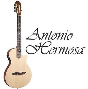 NEW* AH ACOUSTIC ELECTRIC GUITAR Antonio Hermosa AH-50 Classical Acoustic-Electric - MUSICAL INSTRUMENTS 109499313