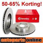 50-65% Korting Remschijven Remblokken VW Transporter T4 T5