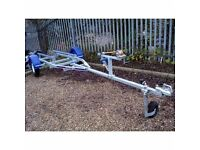 NEW INDESPENSION 4.5MT SPEED FISHING BOAT OR RIB GALVANISED CAR TRAILER