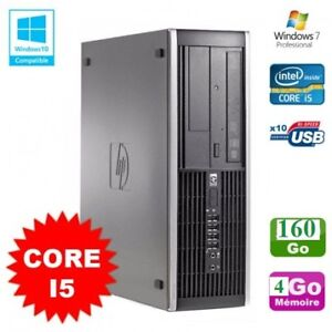 Ordinateur HP Compaq 6200 Core i5 , 3.0 GHz 8GB,500GB,Win 7/10