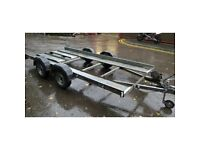 Peak car transporter trailer, used