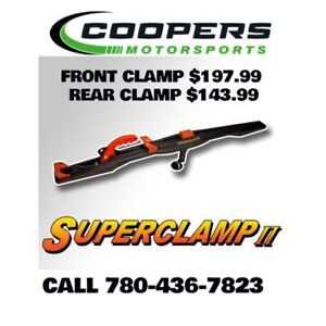 Superclamps clearout, get yours before we are sold out!